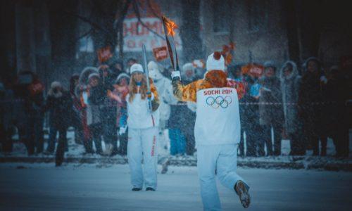 Олимпийский огонь в Воронеже — 2014