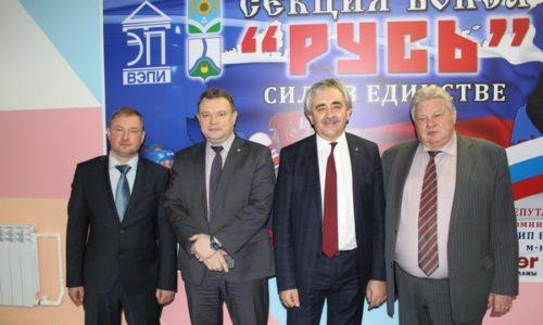Открытие секции по боксу «Русь» в Россоши