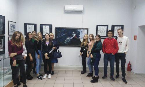 Выставка, посвященная 205-летию русского писателя М.Ю. Лермонтова