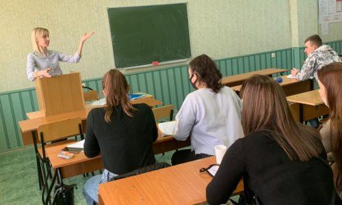 Встреча обучающихся  факультета СПО с адвокатом адвокатского кабинета Е.В. Чернышевой