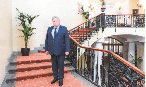Посещение С.Д. Воробьевым Санкт-Петербургского горного университета