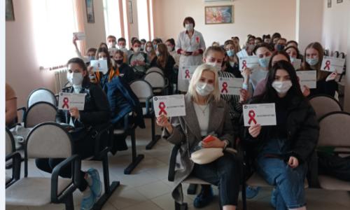 Посещение Воронежского областного клинического центра профилактики и борьбы со СПИД